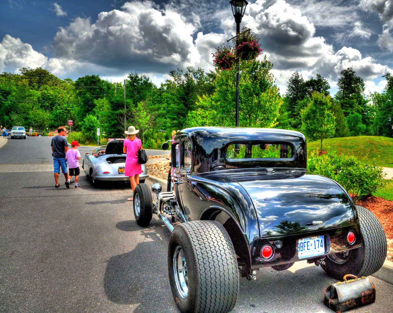 classic cars in Ontario Images