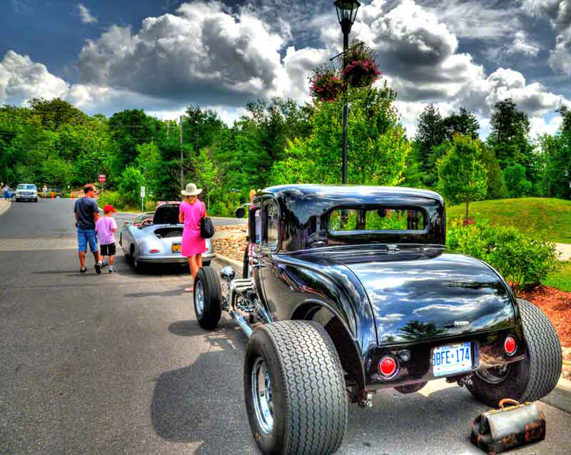 Classic Cars in Muskoka