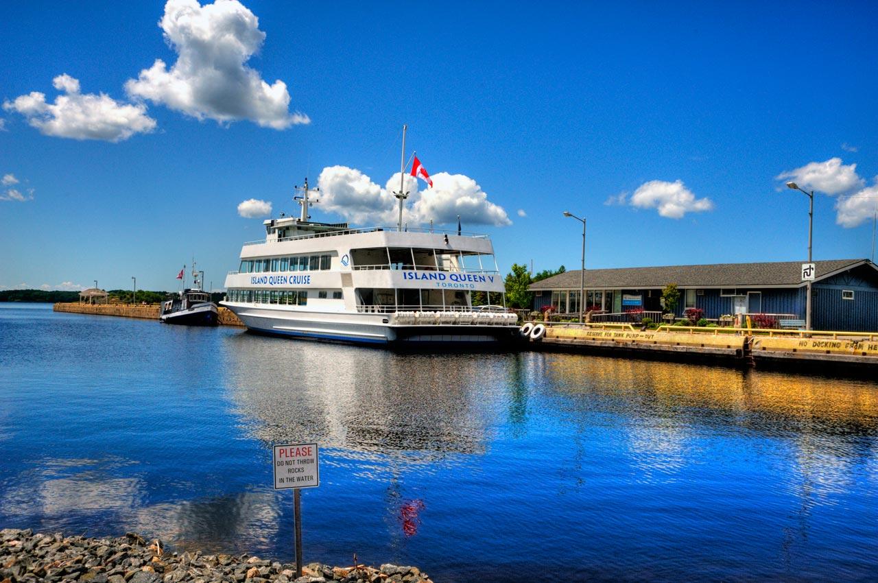 شهر Parry Sound و گردش با قایق کروز