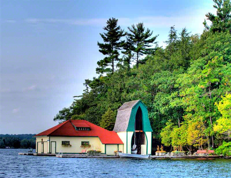 Muskoka Boathouse