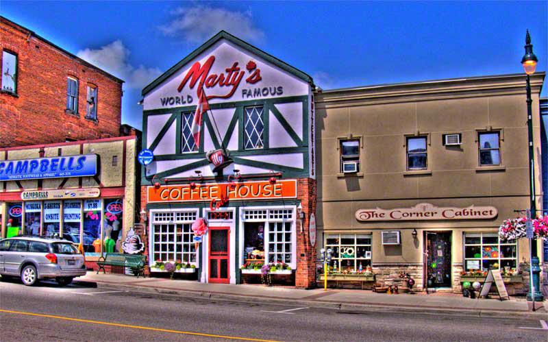 Martys world famous Bracebridge