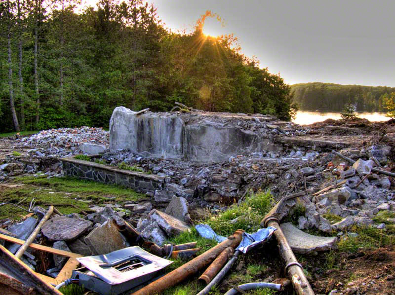 Muskoka Marygrove destroyed