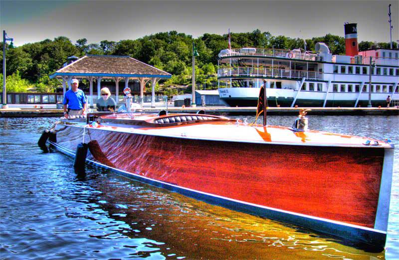 Muskoka Wooden Boat