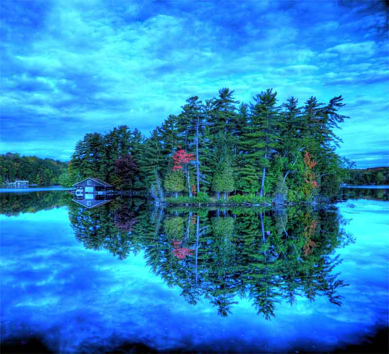 Muskoka Island (Click on Image to Enlarge)