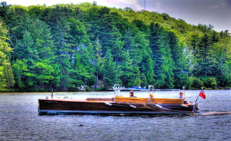 Ditchburn Muskoka Boat