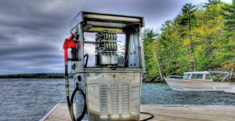 Gas Pump in Muskoka at Windermere House